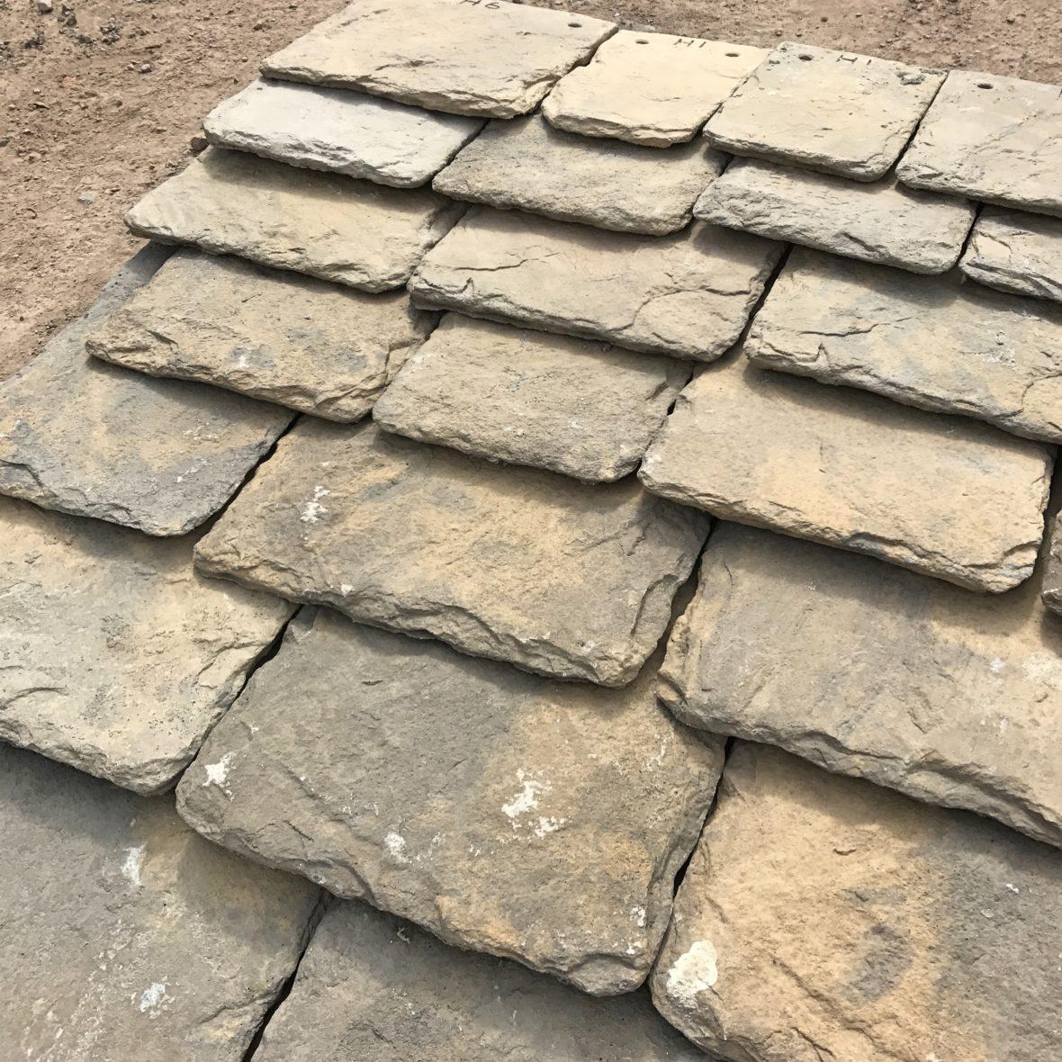 Bradstone Conservation Slate Stone Tile Beechfield
